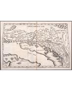 Tabula V. Europae. Pannonia, az Alpok és a Nyugat-Balkán latin nyelvű, fametszetű térképe (1525) - Fries, Lorenz, Pirckheimer, Willibald