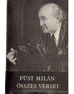 Füst Milán összes versei - Füst Milán