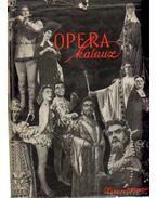 Operakalauz - Gál György Sándor, Balassa Imre