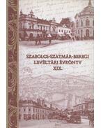 Szabolcs-Szatmár-Beregi Levéltári Évkönyv XIX. - Galambos Sándor, Kujbusné Mecsei Éva