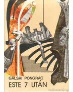 Este 7 után - Galsai Pongrác