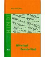 Wörterbuch Deutsch – Hindi - GATZLAFF-HALSIG, MARGOT