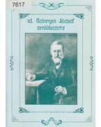 id. Szinnyei József emlékezete - Gazda István