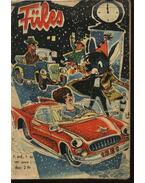 Füles 1960., 1961. IV-V. évfolyam (hiányos) - Gelléri András (szerk.)