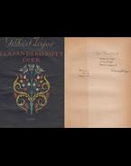Elajándékozott évek (dedikált) - Gellért Lajos