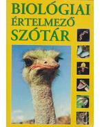 Biológiai értelmező szótár - Gerencsér Ferenc