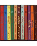 Borostyán 1-22. kötet (teljes) - Montemaggiore, Angelica