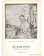 Rembrandt rézkarcai és rajzai - Gerszi Teréz