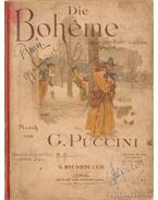 Die Bohéme - Giacomo Puccini