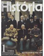 História 1994/1 - Glatz Ferenc