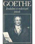 Irodalmi és művészeti írások - Goethe
