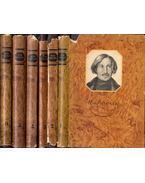 Gogol összegyűjtött művei 1-6. (orosz) - Gogol, Nyikolaj Vaszilijevics