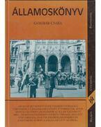 Államoskönyv (dedikált) - Gombár Csaba