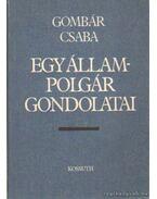 Egy állampolgár gondolatai - Gombár Csaba
