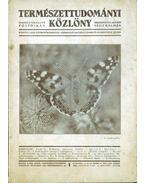Természettudományi Közlöny 1936. június (68. kötet) - Gombocz Endre, Szabó-Patay József