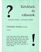 Kérdések és válaszok - Görömbei András