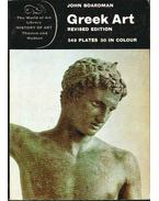 Greek Art - Boardman, John