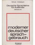 Moderner deutscher sprachgebrauch - Griesbach,Heinz