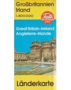 Großbritannien / Irland Landerkarte (1: 800 000)