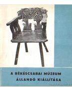 A Békéscsabai Múzeum állandó kiállítása - Győrffy Sándor, Vörös Károly