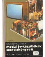 Modul tv-készülékek szervizkönyve II. - Gyurkovics Attila