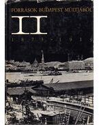 Források Budapest múltjából II. 1873-1919 - H. Kohut Mária, Ságvári Ágnes