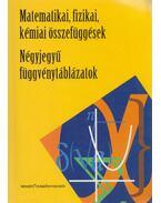 Négyjegyű függvénytáblázatok / Matematikai, fizikai, kémiai összefüggések - Hack Frigyes, Kugler Sándorné, Tóth Géza