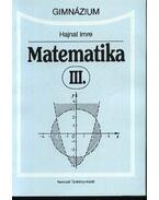 Matematika III. - Hajnal Imre