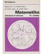 Matematika IV. osztály - Hajnal Imre, Nemetz Tibor, Pintér Lajos, Urbán János