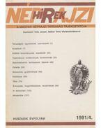 Néprajzi hírek 1991/4. - Hála József, Balázs Géza