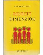 Rejtett dimenziók - Hall, Edward T.