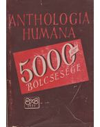 Anthologia humana - Hamvas Béla