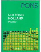 Last Minute - Holland Útiszótár - Hans Beelen