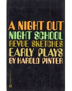 A Night Out / Night School / Revue Sketches - Harold Pinter