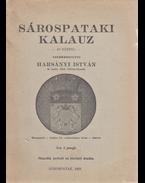 Sárospataki kalauz - Harsányi István