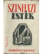 Szinházi esték - Harsányi Kálmán
