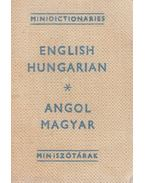 Angol-magyar miniszótár / English-Hungarian Minidictionary (minikönyv) - Havas Lívia