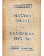 Magyar-angol miniszótár / Hungarian-English Minidictionary (minikönyv) - Havas Lívia