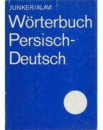 Wörterbuch Persisch-Deutsch - Heinrich F.J. Junker, Bozorg Alavi