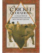 Cricket quotations - Helen Exley