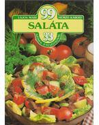 99 saláta 33 színes ételfotóval - Hemző Károly, Lajos Mari