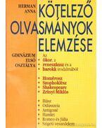 Kötelező olvasmányok elemzése 1. - Herman Anna