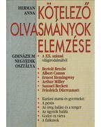 Kötelező olvasmányok elemzése - Herman Anna