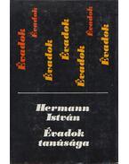 Évadok tanúsága (dedikált) - Hermann István