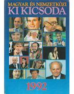 Magyar és nemzetközi ki kicsoda 1992 - Hermann Péter
