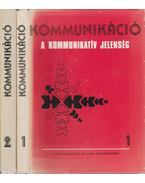 Kommunikáció I-II. - Horányi Özséb