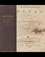 Q. Horatii Flacci Opera / P. Virgilii Maronis Opera - Horatius, Flaccus Quintus, Vergilius Maro, Publius