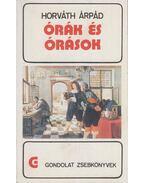Órák és órások - Horváth Árpád