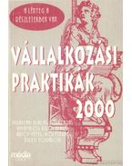 Vállalkozási praktikák 2000 - Horváth Miklós