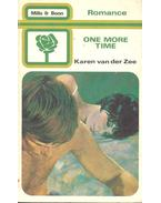 One More Time - Zee, Karen van der